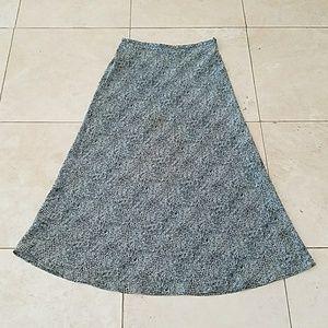 Design Originals Studio Long A-Line Skirt L